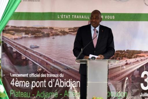 Côte d'Ivoire: lancement des travaux du quatrième pont d'Abidjan
