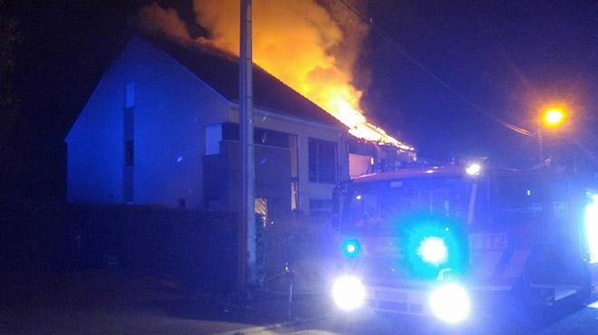 Trente pompiers se mobilisent mais ne parviennent pas à éviter la mort d'une personne à Sprimont