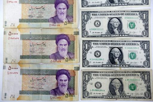 Iran : le rial baisse de 18% en deux jours