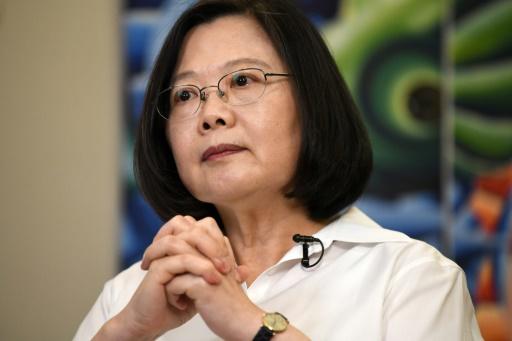 Pékin enjoint aux Etats-Unis d'empêcher une escale de la présidente de Taïwan