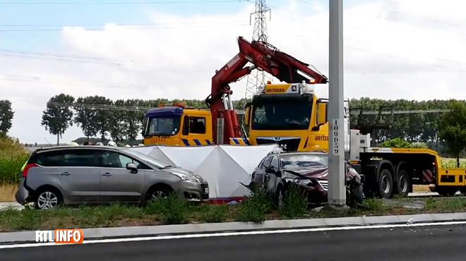 Carambolage mortel en Flandre ce matin: quatre morts, tous membres d'une même famille