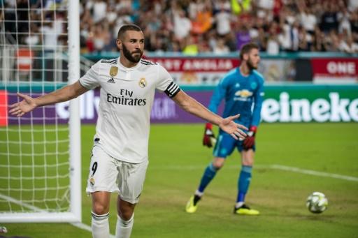 Amical: Lopetegui perd son 1er match à la tête du Real contre Manchester United