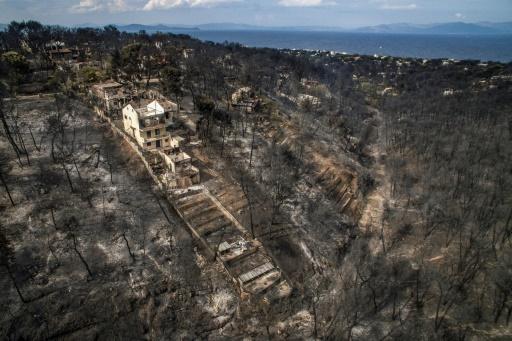 Grèce: après les feux, offensive annoncée contre les constructions illégales