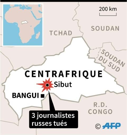 Journalistes assassinés en Centrafrique : RSF réclame une enquête