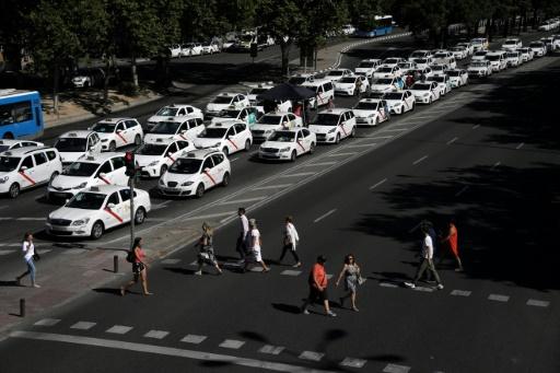 Espagne: chute des ventes dans les centres-villes suite à la grève des taxis