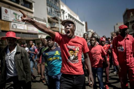Zimbabwe: la police tire des gaz lacrymogènes contre des partisans de l'opposition