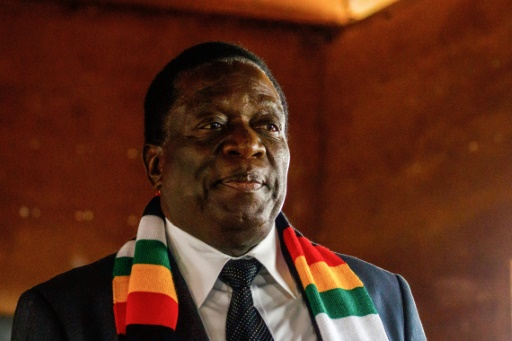 Zimbabwe: le président Mnangagwa appelle à résoudre