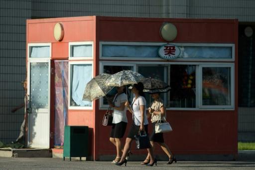La Corée du Nord face à une vague de chaleur