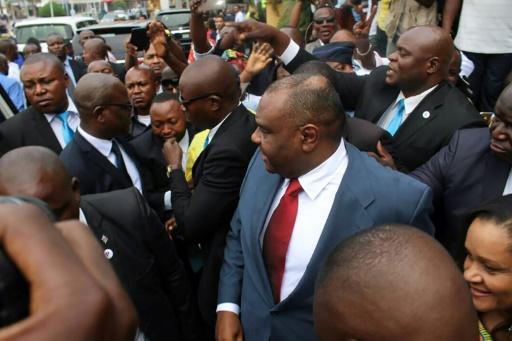 RDC: Bemba à la commission électorale pour se porter candidat à la présidentielle