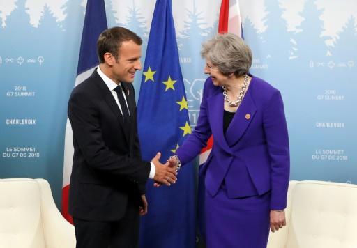La rencontre Macron-May de vendredi centrée sur le Brexit