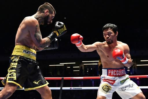 Boxe: après sa défaite contre Pacquiao, l'Argentin Matthysse raccroche