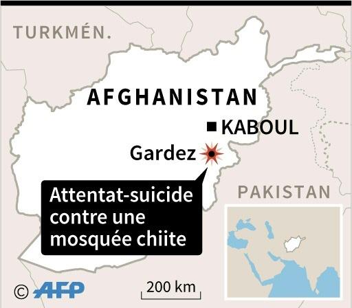 Afghanistan: au moins 20 morts dans l'attentat-suicide contre une mosquée chiite