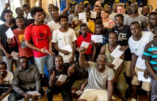 Les 42 Soudanais de l'Aquarius accueillis à Lille obtiennent le statut de réfugiés
