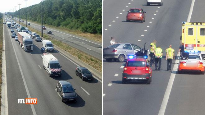 Un accident sur la E42 a provoqué des files: les véhicules impliqués ont été évacués