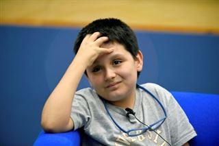 Carlos Antonio, un jeune prodige de 12 ans, entre à l'université au Mexique- il veut aider les médecins à soigner toutes les maladies