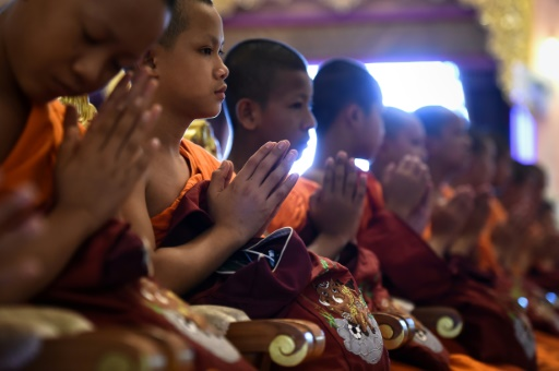 Thaïlande: les jeunes rescapés sont sortis de leur retraite¨