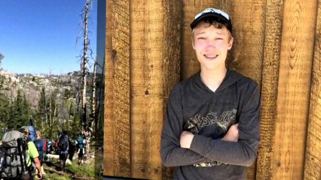 Aux Etats-Unis, un autiste de 13 ans se perd lors d'une randonnée: pendant 2 jours, il use de stratagèmes pour survivre