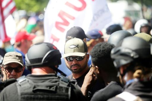 Etats-Unis: une manifestation d'extrême droite dispersée après des violences