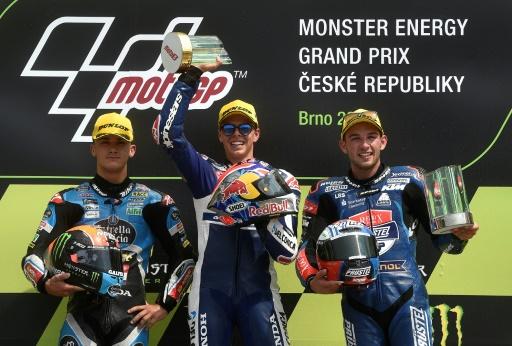 GP de République tchèque: première victoire de Fabio Di Giannantonio