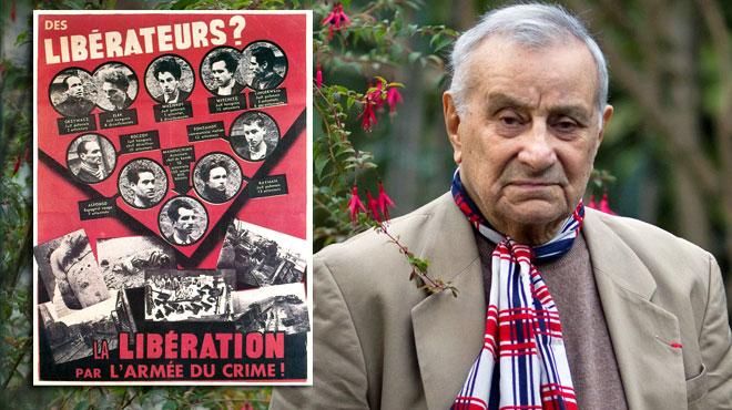 Un héros de la Seconde Guerre mondiale nous a quittés: Arsène Tchakarian était le dernier survivant du célèbre
