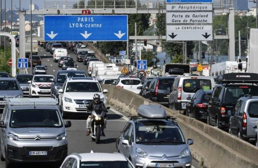 Pollution à l'ozone: circulation différenciée à Lyon et en Isère lundi