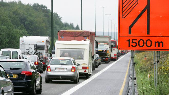 Deux nouveaux CHANTIERS sur les routes wallonnes dès ce lundi