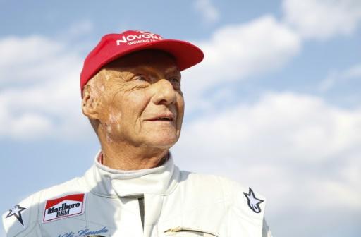 Niki Lauda dans un état