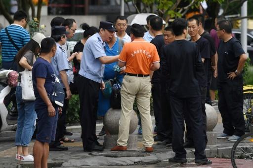 A Pékin, la police mobilisée pour empêcher une manifestation d'épargnants floués