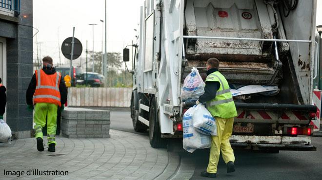 A Gand, les éboueurs débrayent: les habitants sont invités à ne pas sortir leurs poubelles