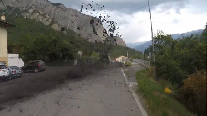 Un immense torrent de boue envahit un village suisse (vidéos)