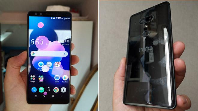 HTC sur la bonne voie: son U12+ n'a qu'un seul défaut, il aime trop les traces de doigts