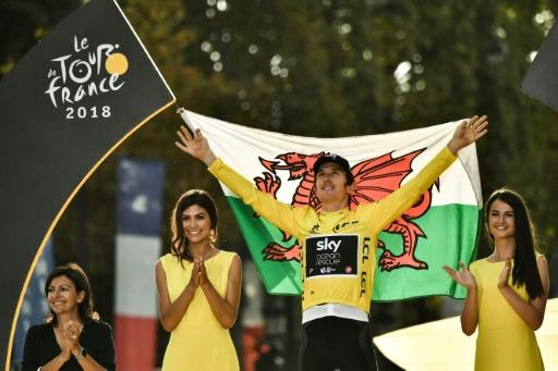 Cyclisme: la nouvelle équipe CCC Worldtour vise Geraint Thomas