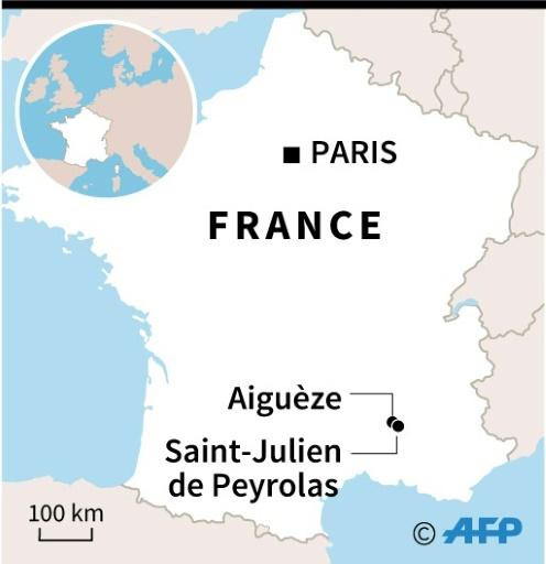 Orages: toutes les personnes en difficulté dans le nord du Gard secourues