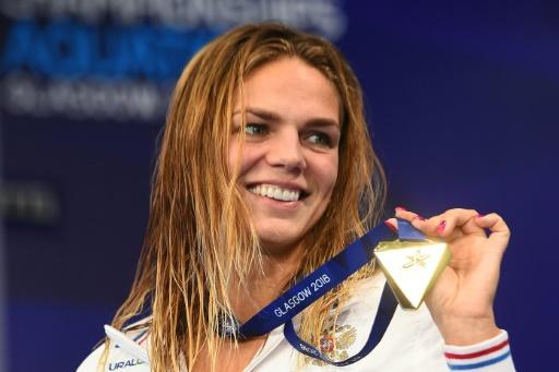 Euro de natation: grand chelem pour Efimova en 50 m brasse