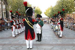 La relève de la garde n'a pas lieu qu'à Londres, mais aussi à Ajaccio