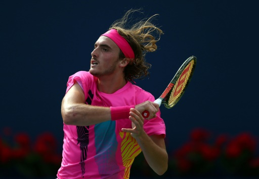 Tennis: la révélation Tsitsipas s'offre Djokovic à Toronto
