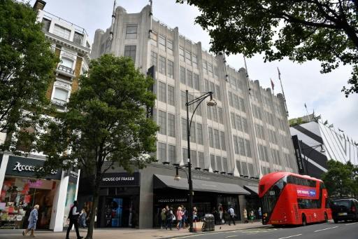 GB: les grands magasins House of Fraser vont se déclarer en faillite