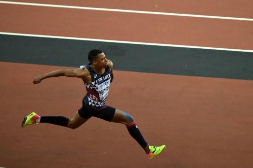 Athlétisme: les Français Pontvianne et Correa en finale du triple saut