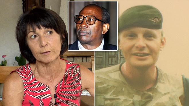 Martine, la sœur d'un des paras belges assassinés au Rwanda, s'indigne contre celui qui a tué son frère: