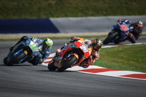 Moto: Morbidelli sanctionné de 3 places sur la grille du GP d'Autriche