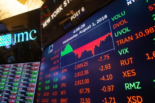 Wall Street, affectée par la Turquie, ouvre en baisse