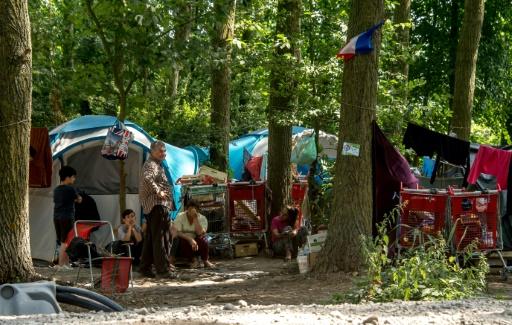 Les principaux campements de migrants dans le nord de la France depuis 1999