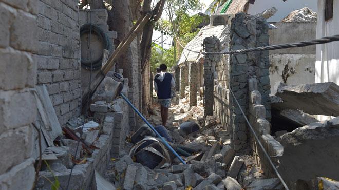 Indonésie: le bilan du séisme à Lombok grimpe à 387 morts et plus de 10.000 blessés