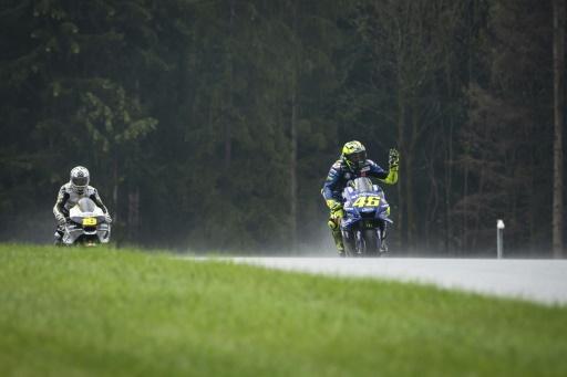 MotoGP: Rossi obligé de passer par la première séance de qualification du GP d'Autriche