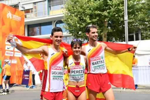 Athlétisme: l'Espagne a repris le pouvoir sur 20 km marche