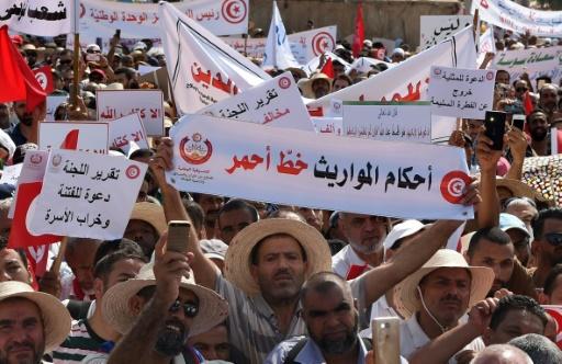 Tunisie: manifestation contre l'égalité successorale et d'autres réformes