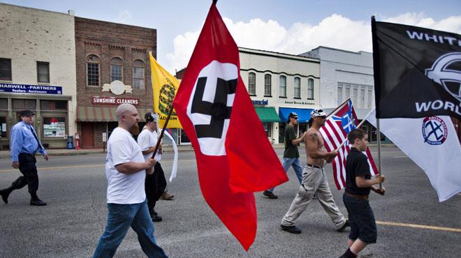 Washington attend les néo-nazis, un an après les incidents meurtriers de Charlottesville
