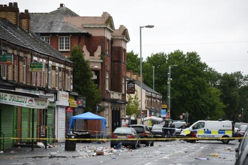 Dix blessés dans une fusillade à Manchester