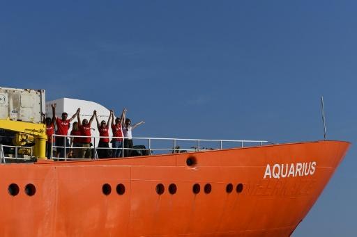 Aquarius : La France discute avec d'autres pays de l'UE pour trouver