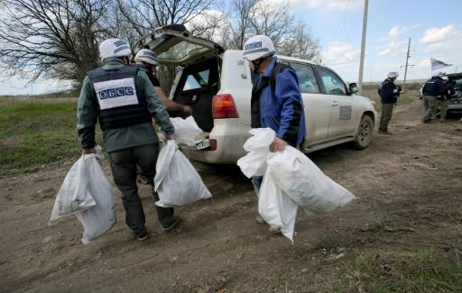 Ukraine: l'OSCE a repéré des équipements de conception russe en territoire séparatiste